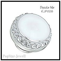 KJP028 Dazzle Me WHITE, Kameleon Jewelpop, Reg. $49 #Kameleon