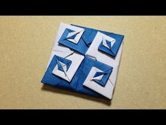 Modular Origami / Origami Vortex Coaster - YouTube
