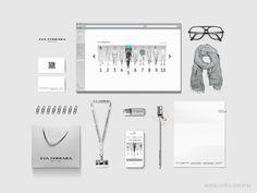 Fashion brand identity - Minimalist by Kreiselberg