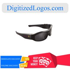 Get the HD 720P Camera Sunglasses at only $79.36 instead of $88.18 plus more discount on volume purchase! Please visit DigitizedLogos.com for more information and inquiry. #DigitizedLogos #PromotionalItem #Discount #Sale #Offer #Camera #Sunglasses #HD720P