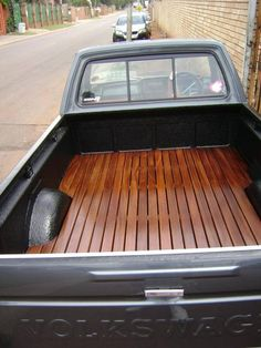 VWVortex.com - Wood floor in a caddy bed??