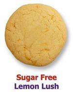 Soft, lemony, chewy, sugar free cookies from Kelli's