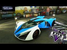 VAZOU! Customizando Novo Carro Prototipo no GTA5 - (GTA V PC MODS) DLC F...