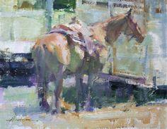 Artist: Carolyn Anderson - Title: Bear Paw Horse