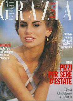 GRAZIA Italia Nº 2675 - 1992 June 7 - niki taylor ph: Antoine Verglas