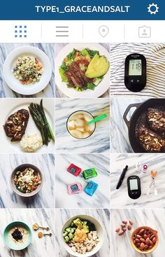 An instagram account dedicated to all things TYPE 1 DIABETES...recipes, healthy living, tips and tricks. @type1_graceandsalt