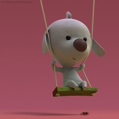 3d animation models: Scott. by Raphael Grosjean, via Behance