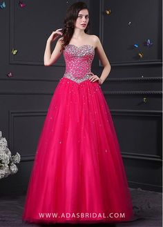 Lovely Tulle   Satin Sweetheart Neckline Ball Gown Quinceanera Dresses d91d2313d8