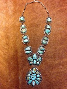 Herman Smith turquoise necklace