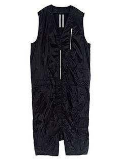 Rick Owens Men's Sleeveless Show Jumpsuit.