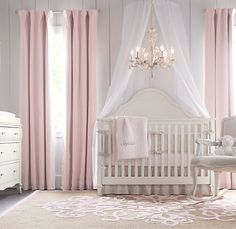I don't know about a heavy light fixture hanging above a sleeping infant or a grabby toddler but I love the colors!