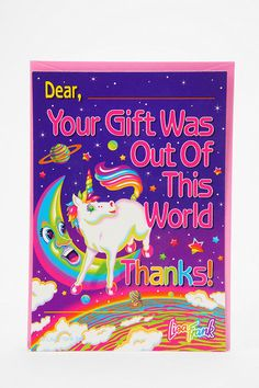 Lisa Frank notecards. Someone buy me all of these things.