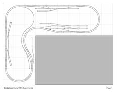 model railroad shelf plans | started building this layout around August 25th, 2007. Here is how ...