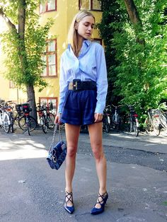 What to Wear During Summer's Hottest Month via @WhoWhatWear