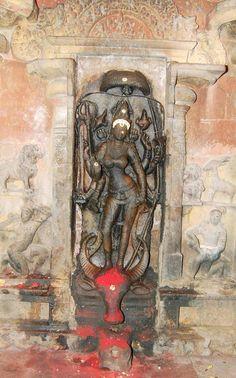 Indic Nonpareil — arjuna-vallabha:   Durga Mahisasuramardhini, Tamil...