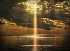 Laser Art Print featuring the photograph Laser Light Reflections by Stuart Deacon All Nature, Amazing Nature, Image Ciel, Myconos, Reflection Art, Light Of The World, The Light, Light Water, Light Beam