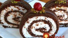 Neporovnateľná kokosová rolka bez pečenia, bez varenia: Stačí zabaliť a v chladničke vydržia až 3 týždne! Romanian Food, Biscuit, Rolls, Pudding, Recipes, Basket, Coconut Cream, Meal, Mascarpone