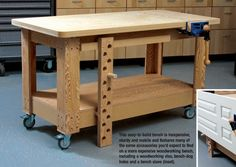 workbenches for small places | ... your DIY and craft projects? Share your spaces in the comments below