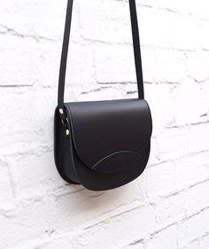 Leather Bag Black Bag Handmade Leather Bag Leather by ARTonomousgr