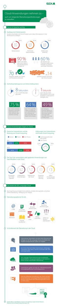 Infografik: Übersetzungslösungen aus der Cloud   Statista