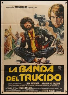 eMoviePoster.com Image For: 4f117 DESTRUCTION FORCE Italian 1p '77 La Banda del trucido, art of Tomas Milian & Luc Merenda!