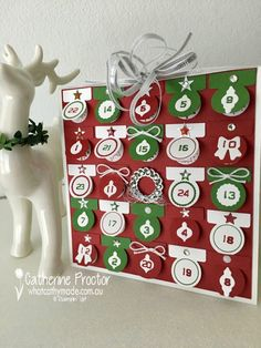 """""""Tabs for Everything Advent Calendar"""" Card - What Cathy Made"""