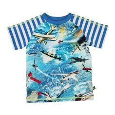 *NEW* MOLO shirt Airplanes Vliegtuigen