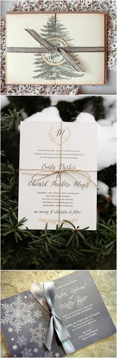 winter wedding invitations for 2017