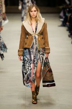 Burberry Prorsum @ London Fashion Week winter 2014-15 - video