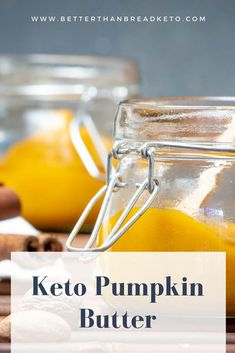 It's apple butter but… pumpkin. This keto pumpkin butter is easy to make and a delicious addition to all kinds of things! Pumpkin Butter, Apple Butter, Pumpkin Spice, Coctails Recipes, Dessert Recipes, Keto Desserts, Drink Recipes, Dinner Recipes, Quinoa Cake