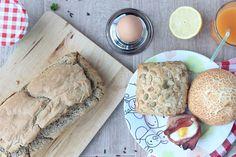 Glutenvrij brood bakken van boekweitmeel   eethetbeter.nl Fodmap, Camembert Cheese, Dairy, Lunch, Food, Eat Lunch, Eten, Meals, Diet