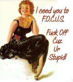 F.O.C.U.S. people.