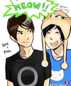 Dan and Phil by fluffy-fuzzy-ears.deviantart.com on @DeviantArt