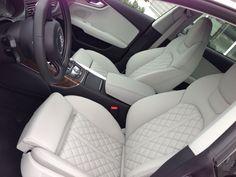 2013 Audi S7- LOVE THE INTERIOR!! W/ the white diamond stitch leather