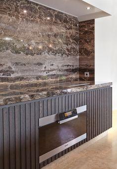 "Frapucino (café au lait)/Mediterranean Cream – Villa YV-Knokke ""architect: Filip Van Bever"" – Graniet & marmer"