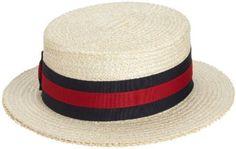 a98cc149b5b8f Amazon.com  Scala Men s Dress Straw 1 Piece 10 11Mm Laichow Braid Boater