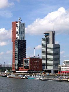 Montevideo Woontoren Rotterdam. Mecanoo Architecten