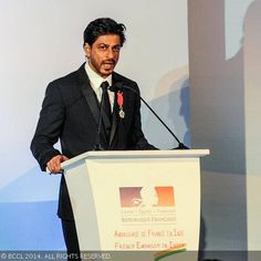 SRK awarded with top French honour!- The Times of India Photogallery