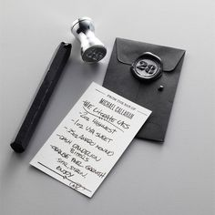 I love the idea of wax and personal seal! A ring or pendant on a necklace would b awesome! Birthday present anyone?!?