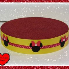 Minnie mouse - lollipops or cakepops stand - minnie mouse party decoration - red minnie mouse
