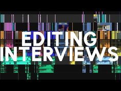 (3) Quick Tips for Editing Interviews - YouTube