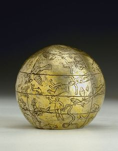 Celestial globe, 2nd century B.C. - 1st century A.D. Paris, Kugel Collection The constellations depicted on this silver globe are based on the iconographic tradition of Hyginus. This is one of the oldest extant depictions of the celestial sphere.