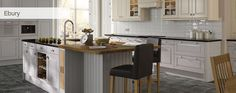 Having a mini end island for the kids to sit at White Kitchen Appliances, Grey Kitchens, Kitchen Countertops, Small Kitchen Renovations, Kitchen Remodel, Home Decor Kitchen, New Kitchen, Kitchen Ideas