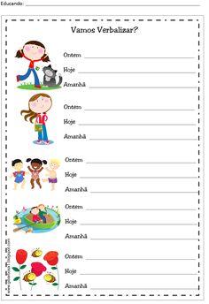 Teaching Kids, Homeschool, Language, Writing, Reading, Sos Professor, Sight Word Activities, Toddler Learning Activities, Reading Activities