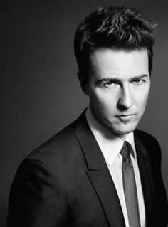 Edward Norton #Celeb #Portrait