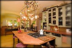 I designed my kitchen with copper and concrete in mind.  @SK Sartell   http://www.sksartell.com  http://www.whiteoaksbedandbreakfast.com