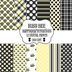 #Bee digital paper