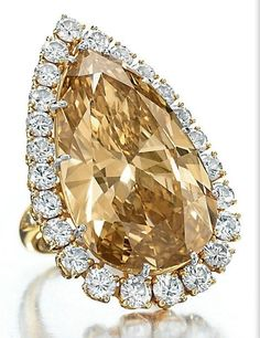 The Burton Cognac Diamond ring, Van Cleef & Arpels