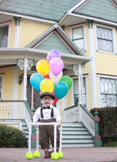 I cannot deal with the cuteness - Carl from UP! -- 34 Babies In Halloween Costumes The Whole World Needs To See