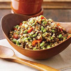 Multigrain Pilaf From Better Homes and Gardens, ideas and improvement projects for your home and garden plus recipes and entertaining ideas.